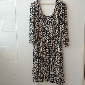 Lily Morgan leopard dress